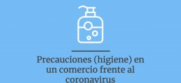 Precauciones (higiene) a tomar en un comercio frente al coronavirus